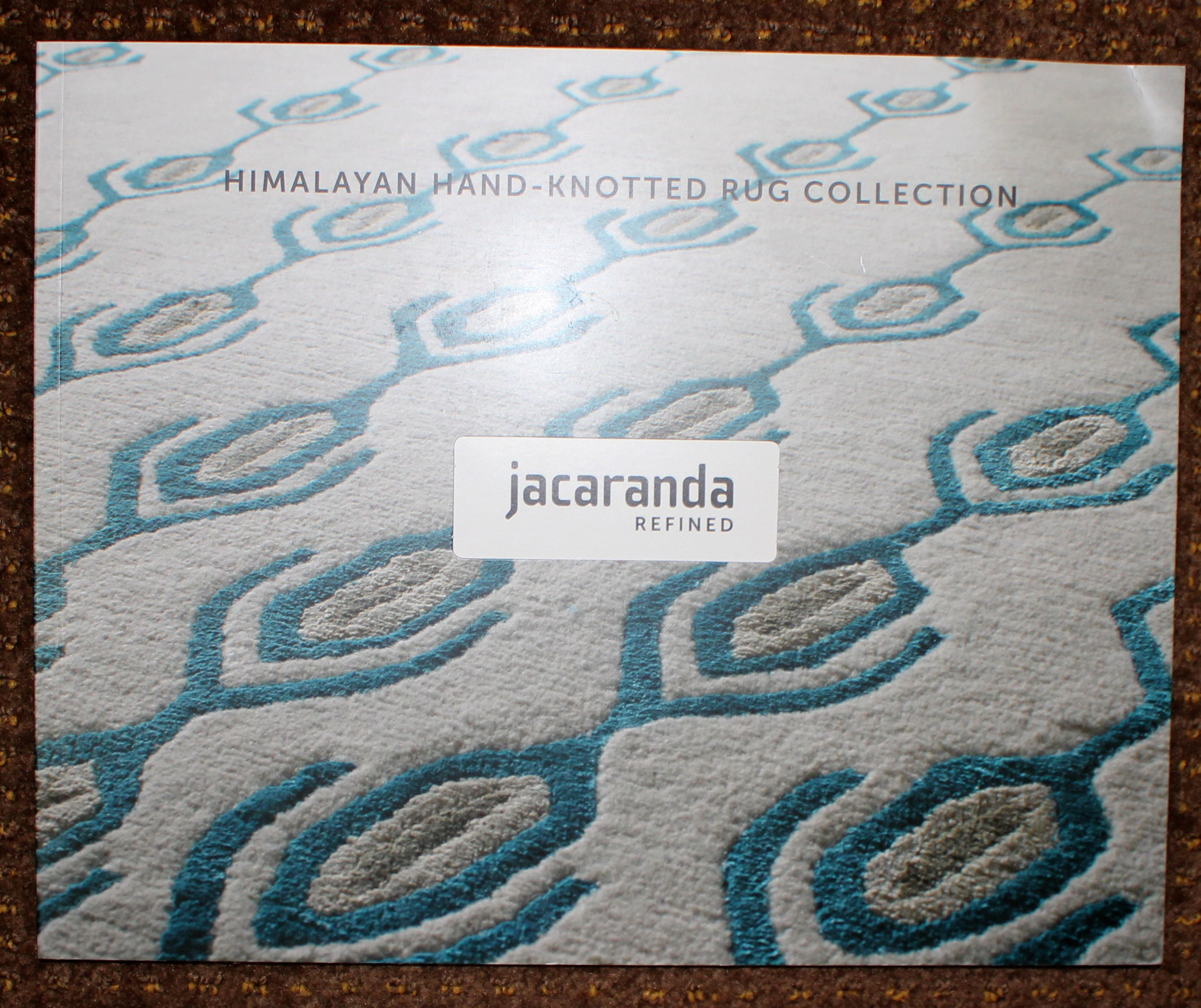 брошюра himalayan hand-knotted rugs