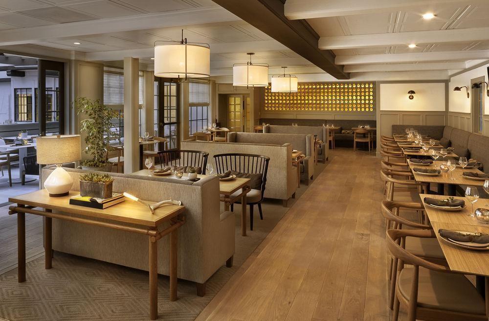 Интерьер отеля в скандинавском стиле