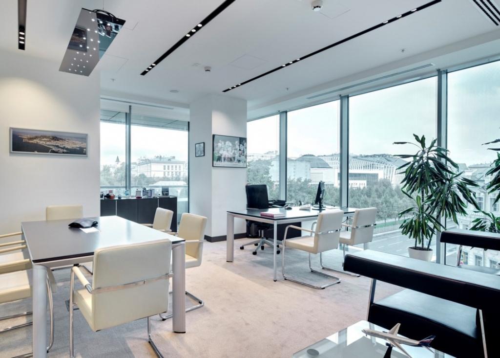Как сделать интерьер офиса в стиле хай-тек