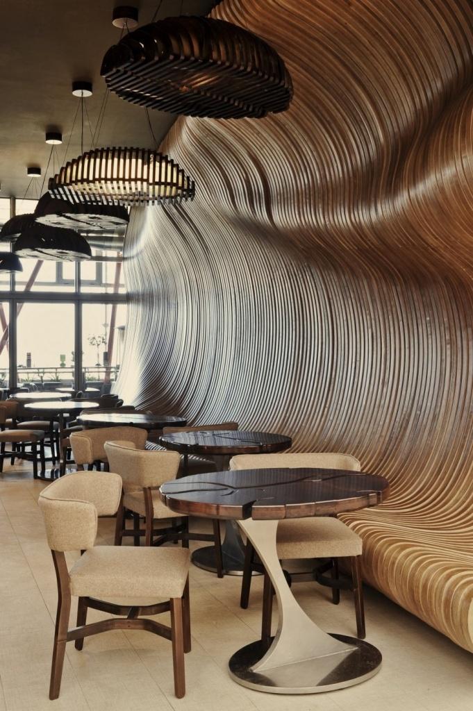 Ресторан и кафе в стиле модерн