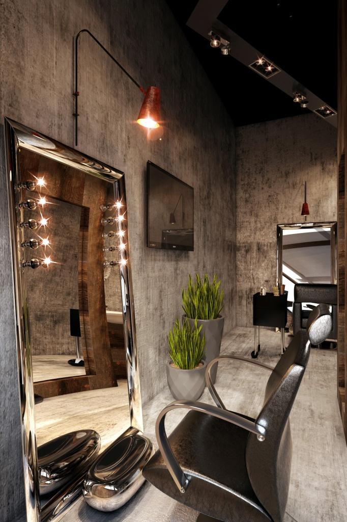 Салон красоты в стиле лофт